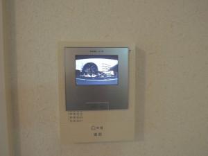世田谷区砧4丁目2DK賃貸マンション・TVモニター付インターホン