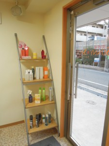 美容室サニースポット新店舗(世田谷区砧4-14-18)ヘアケアグッズ