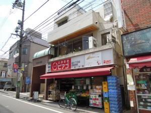 祖師ヶ谷大蔵駅南口のベーグルカフェ『SASURAI CAFE』_外観