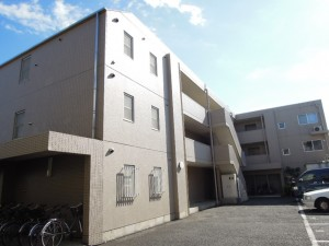 小田急線千歳船橋駅9分・船橋4丁目2DK RC造賃貸マンション 外観
