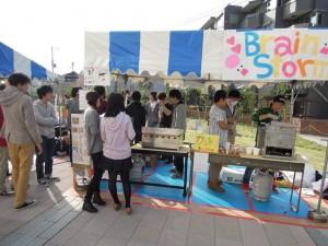 日大商学部2013年学園祭模擬店