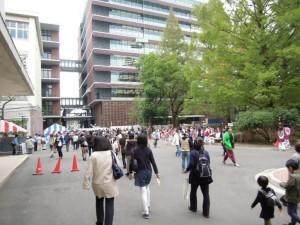 東京農業大学収穫祭の様子