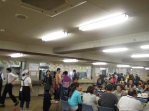 2014年成城大学学園祭_学食