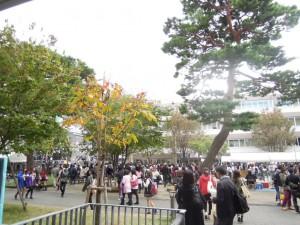 2014年成城大学学園祭_観客の様子