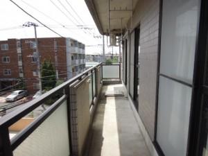 世田谷区砧4丁目 3LDK 賃貸マンション‗バルコニー