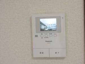 世田谷区砧3丁目1K賃貸アパートカラーTVモニターホン(テレビドア)