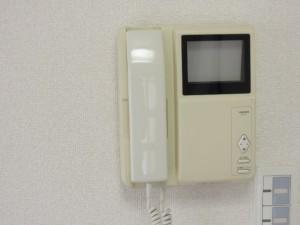 世田谷区千歳台4丁目3DK賃貸マンションTVドアホン(カラーモニター式へ交換前)