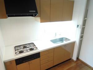 世田谷区喜多見6丁目のRC造3LDK高セキュリティ賃貸マンションシステムキッチン