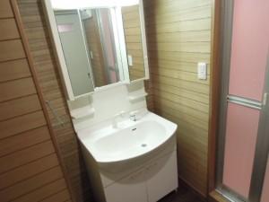 世田谷区千歳台4丁目のルーフバルコニー付2LDK賃貸マンション独立洗面台