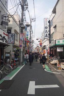 祖師ヶ谷大蔵、商店街、画像